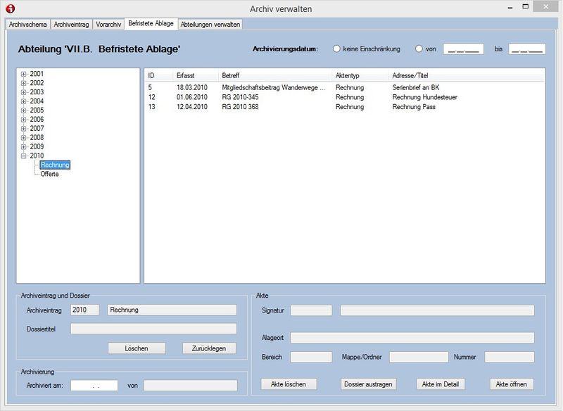 akte digital archivieren